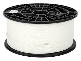 Premium Quality White ABS 3D Filament compatible with the Universal PFABSWH