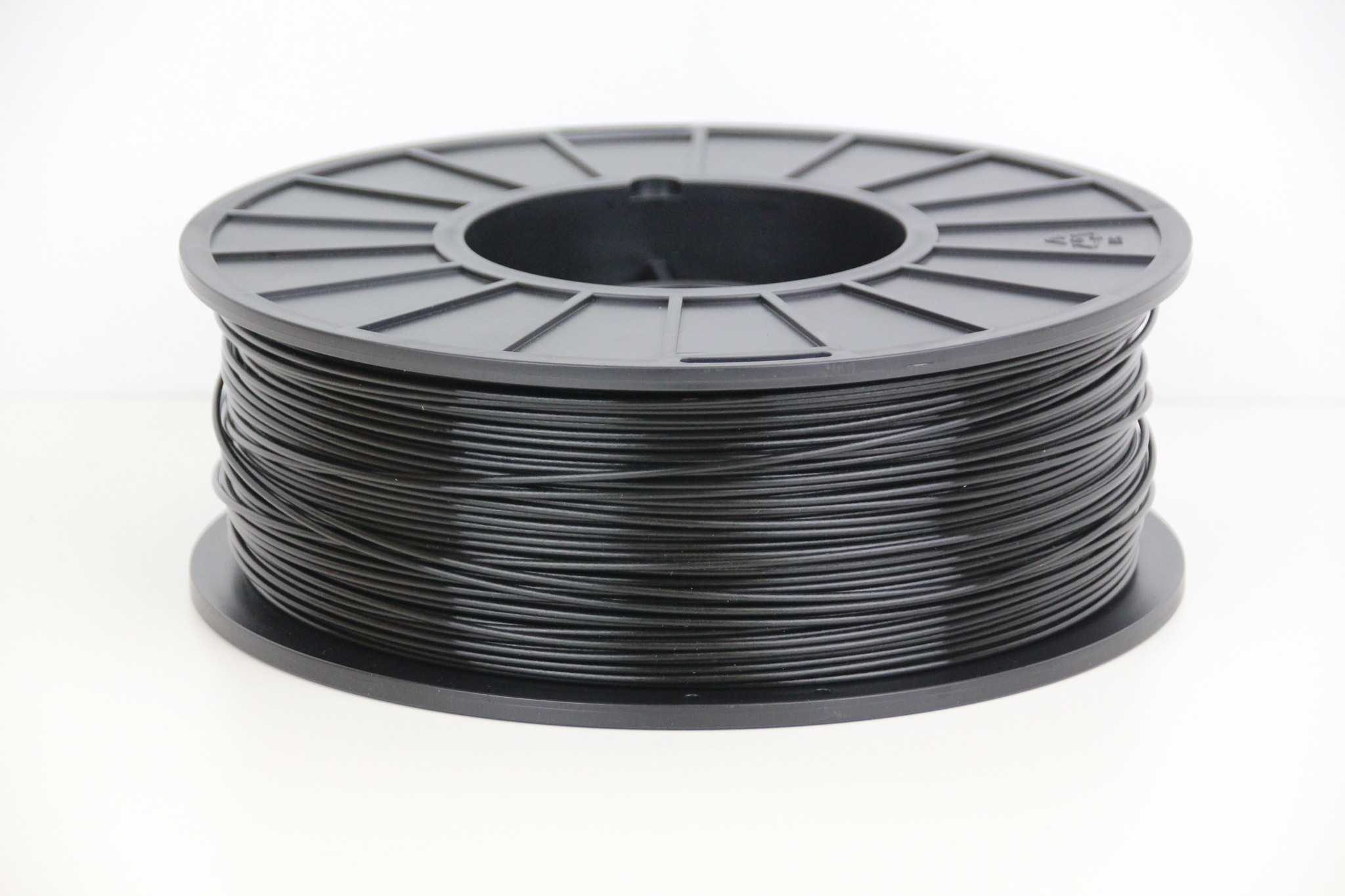 Premium Quality Black ABS 3D Filament compatible with the Universal PFABSBK