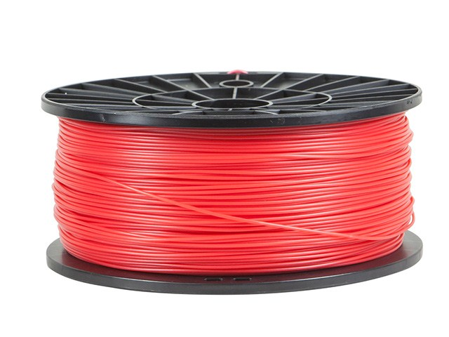 Premium Quality Red ABS 3D Filament compatible with the Universal PFABSRD