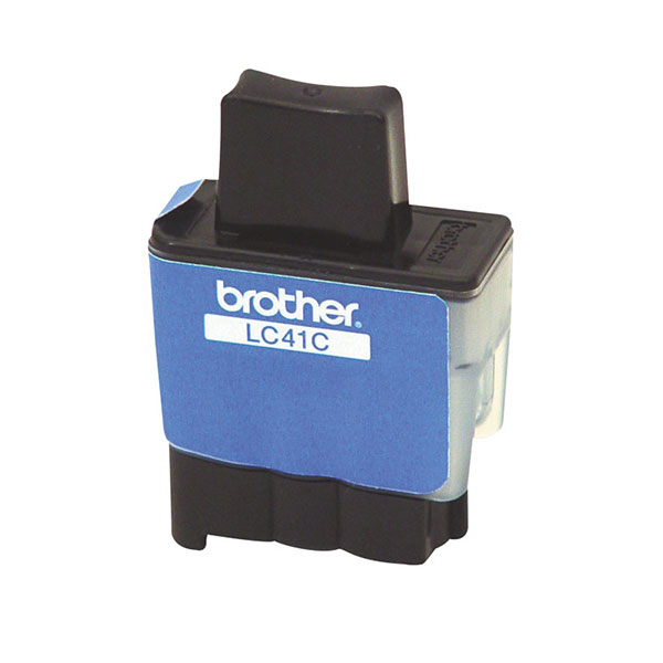 Genuine OEM Brother LC-41C Cyan Inkjet Cartridge (400 page yield)
