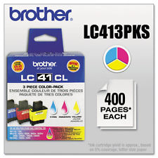 Genuine OEM Brother LC-413 Color Pack Inkjet Cartridge