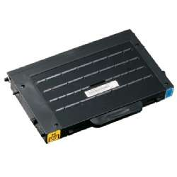 Premium Quality Compatible Cyan Toner Cartridge compatible with the Samsung CLP-500D5C