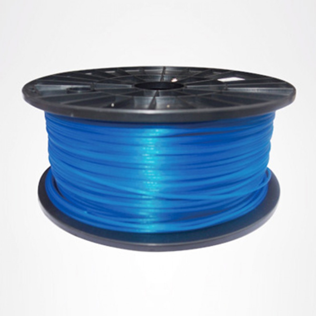 Premium Quality Blue ABS 3D Filament compatible with the Universal PFABSBL