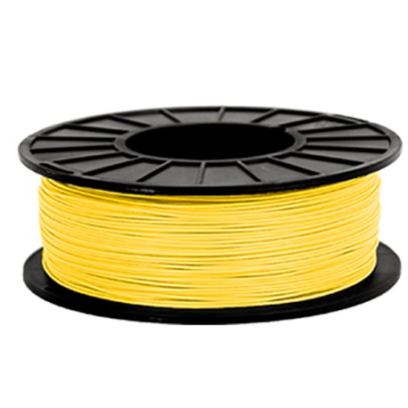 Premium Quality Yellow ABS 3D Filament compatible with the Universal PFABSYL